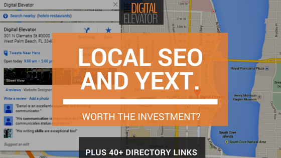 local seo and yext