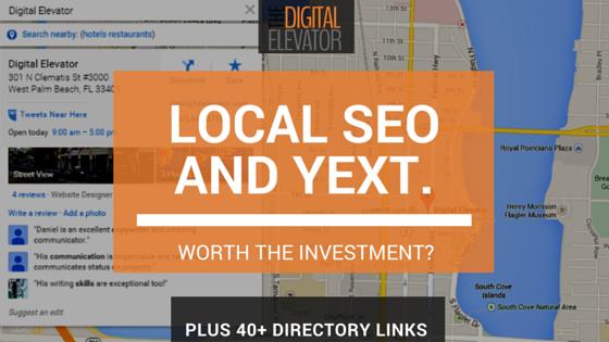 local seo and yext