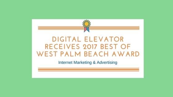 2017 Best of West Palm Beach Award