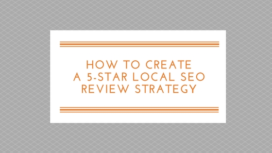 Local SEO Review Strategy