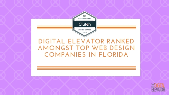 Digital Elevator Ranked Amongst Top Web Design Companies in Florida