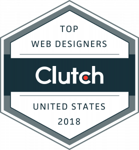 top web design companies in Florida Clutch award
